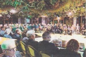 De Kwintelooijen-conferentie in het Jungle-restaurant van Ouwehand. Foto: Max Timons